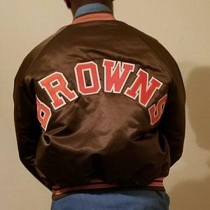 296d8cef Vintage Cleveland Browns Jacket